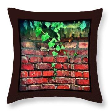 Perennial Ivy Throw Pillow