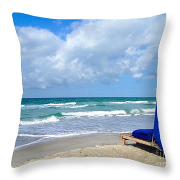 Throw Pillow featuring the photograph Perfect Day by Margie Amberge