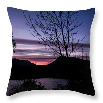 Perfect End Throw Pillow