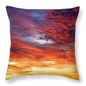 Perfect Ending Throw Pillow by Michael Durst