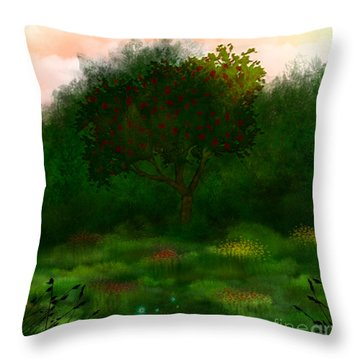Perfect For A Picnic Throw Pillow