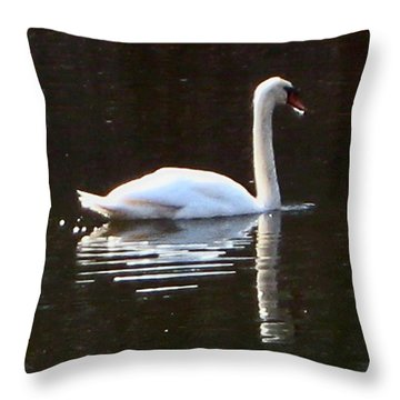 Perfect Grace Throw Pillow by Judith Morris
