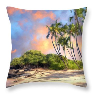 Perfect Moment Throw Pillow by Dominic Piperata