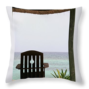 Perfect Resting Spot Throw Pillow by Kimberly Perry