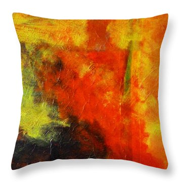Perfect Storm Throw Pillow by Nancy Merkle