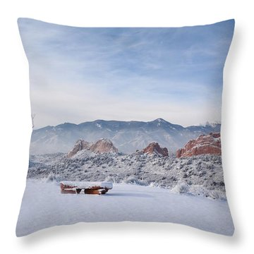 Perfect View Throw Pillow by Diane Alexander