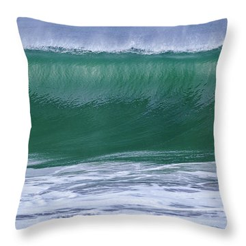 Perfect Wave Large Canvas Art, Canvas Print, Large Art, Large Wall Decor, Home Decor, Photograph Throw Pillow