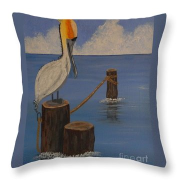 Perfect Weather Throw Pillow