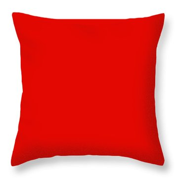Perfectly Clear Throw Pillow by Tom Druin