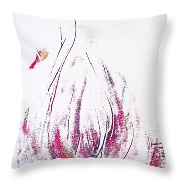 Perfume Poured Out Throw Pillow