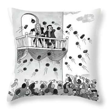 Perhaps Your Majesty Should Try Governing Throw Pillow