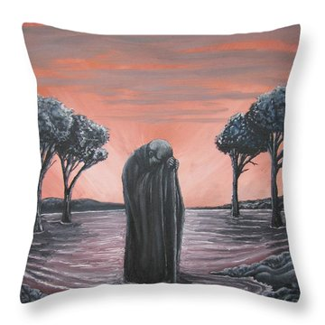 Perils Of Perdition Throw Pillow