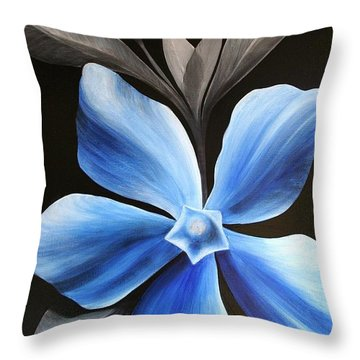 Periwinkle Throw Pillow
