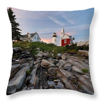 Permaquid At Twilight Throw Pillow