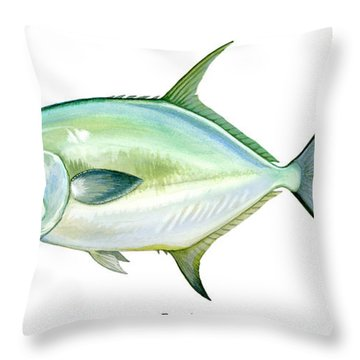 Permit Throw Pillow