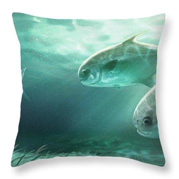 Schooling Throw Pillows
