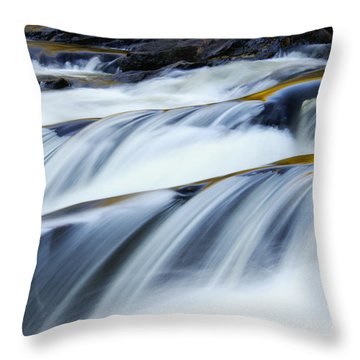 Perpetual Falling Throw Pillow by Aimelle