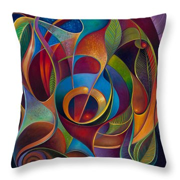 Perplexity Throw Pillow