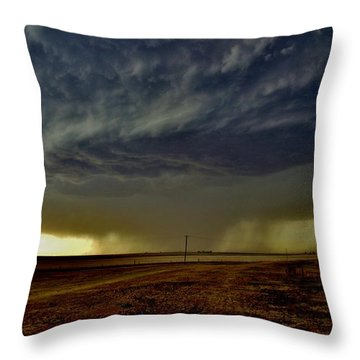 Perryton Supercell Throw Pillow