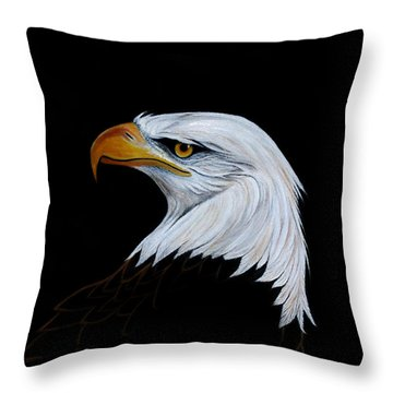 Perserverance Throw Pillow by Adele Moscaritolo