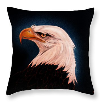 Perserverance II Throw Pillow by Adele Moscaritolo