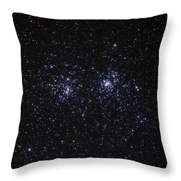 Perseus Double Cluster Ngc 869 Throw Pillow