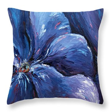 Throw Pillow featuring the painting Persevering Hope by Meaghan Troup