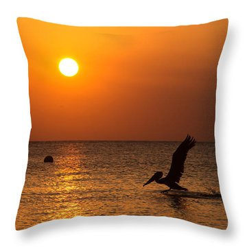 Persistent Beauty Throw Pillow