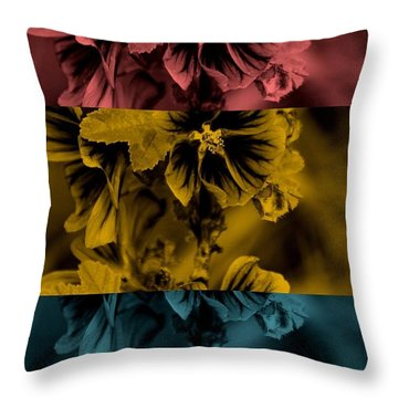 Personal Jesus Throw Pillow by Holley Jacobs