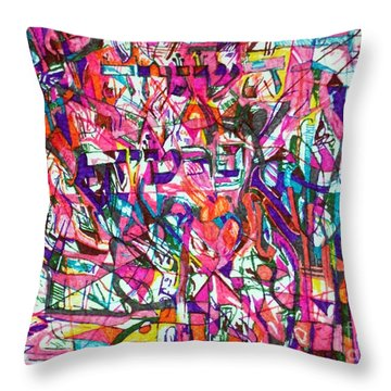 Personal Providence Throw Pillow by David Baruch Wolk