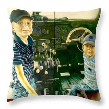 Personnel Throw Pillow
