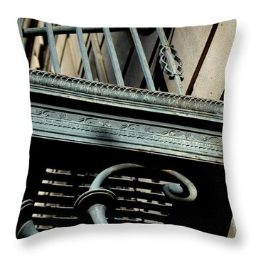 Throw Pillow featuring the photograph Perspective by Christiane Hellner-OBrien