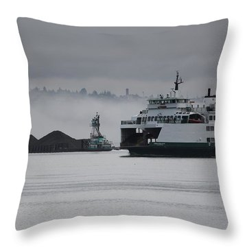 Throw Pillow featuring the photograph Perspective Is Everything by E Faithe Lester