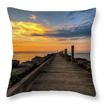 Perspective Light Throw Pillow