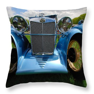 Perspective M G Magna Throw Pillow