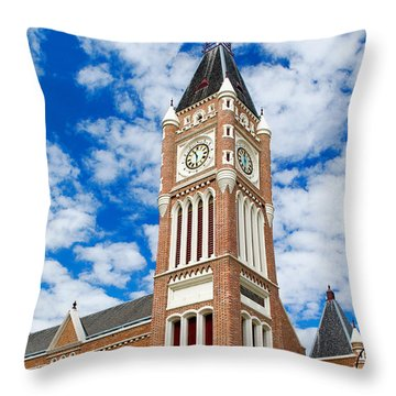 Perth Town Hall Throw Pillow
