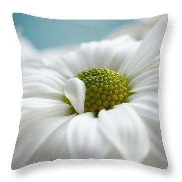 Petal Cloud Throw Pillow