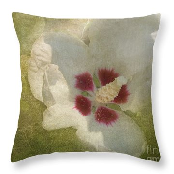 Petals In Shadows Throw Pillow