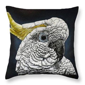Pete Throw Pillow by Linda Becker