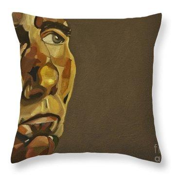 Pete Postlethwaite Throw Pillow