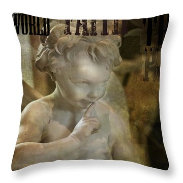 Peter Pan Pixie Dust Throw Pillow