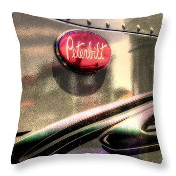 Peterbilt Throw Pillow