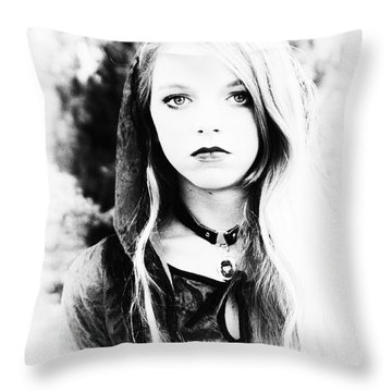 Petite Seer Throw Pillow
