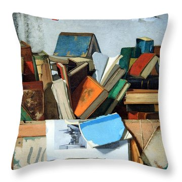 Peto's Take Your Choice Throw Pillow by Cora Wandel