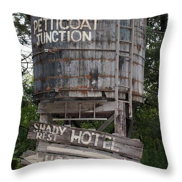 Petticoat Junction Throw Pillow by Kristin Elmquist