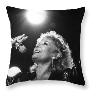 Petula Clark  Throw Pillow
