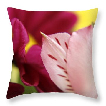 Petuliar Meeting Throw Pillow
