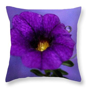 Petunia Throw Pillows
