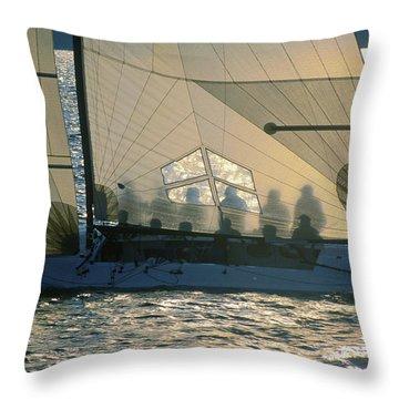 Phantom Crew - Lake Geneva Wisconsin Throw Pillow