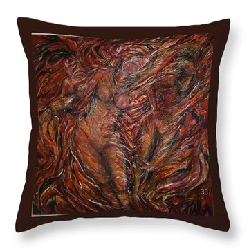 Trumpets Aired Throw Pillow